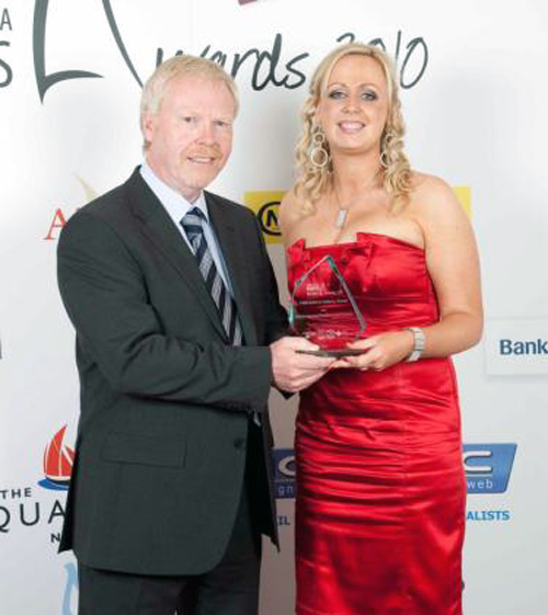 'Innovation in Industry' at the Greater Newry Area Business Awards , June 2010