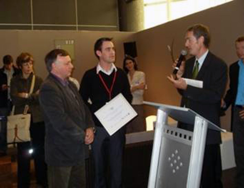 Eco Innovation Award at Environord, June 2009